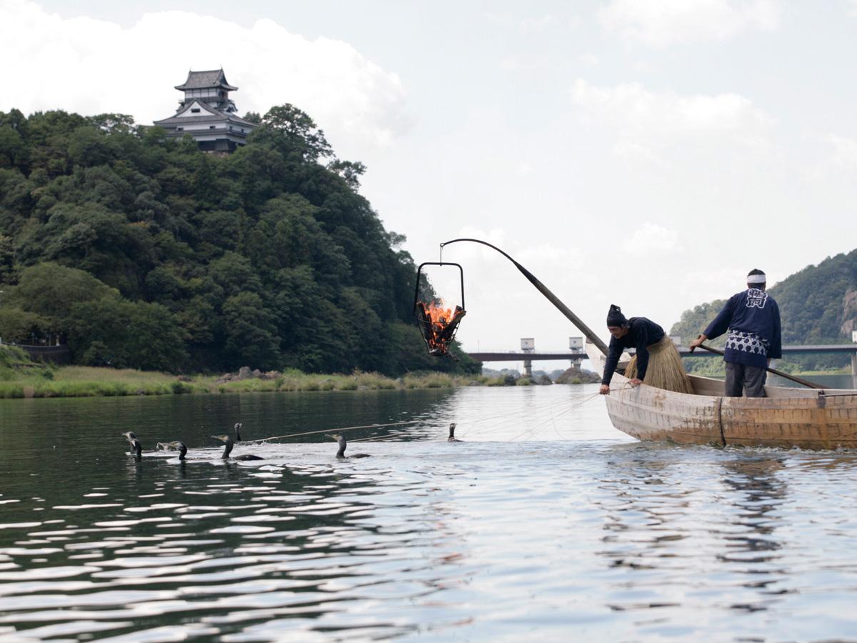 犬山市の『木曽川うかい』