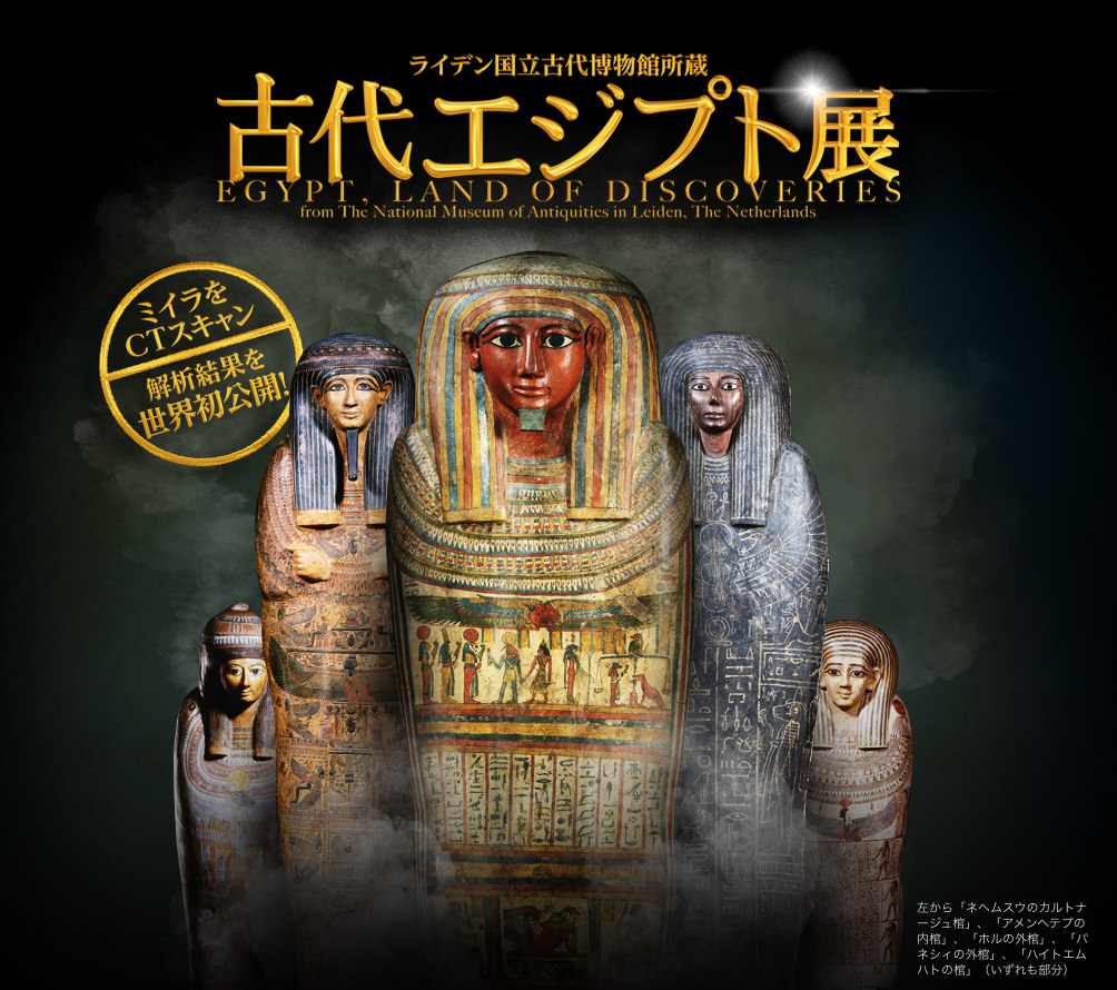 ライデン国立古代博物館所蔵 古代エジプト展