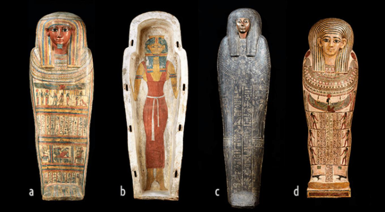 棺に書かれた装飾の意味
