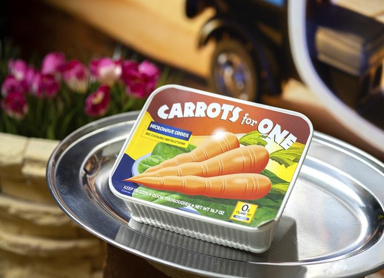 <ジュディ> おひとりさまニンジン・ドリア 落ち込む「ジュディ」が作中で食べていた冷凍食品を再現!?  ¥1,490(税込¥1,639)