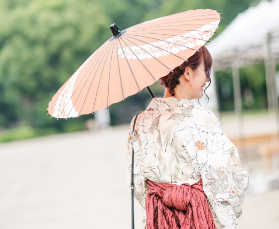 名古屋城夏まつり:和傘・水うちわレンタル
