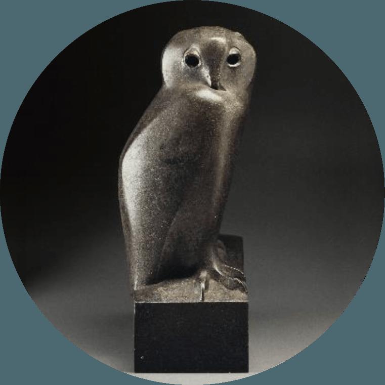 《ワシミミズク》 1927-1930年 / ブロンズ パリ、オルセー美術館蔵